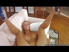 Teenager in cute blue heels ass fucked tubes