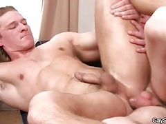 Stud with great abs fucked in the tight ass tubes
