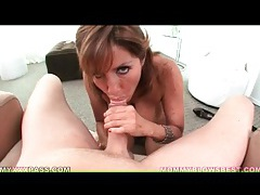 Freckled milf tara holiday sucks dick tubes