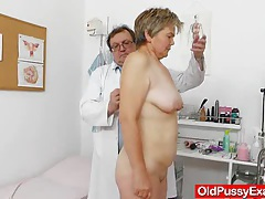 Wife gyno done right plus a medical-tool tubes