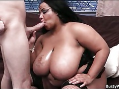 Big white cock sucked by black bbw tubes
