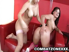 Britney and jeny baby - euro babes in wild threesome sex tubes