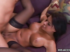 Eva angelina gets a fat cock into her soft cunny. tubes
