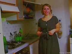 Bbw plays fifties housewife tubes
