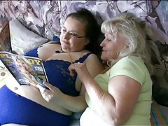 Fat old sluts fool around in bedroom tubes