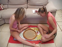 Hot busty lesbian jasmin gets slit toyed tubes