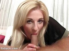 Mia hilton sucks dick in a tight dress tubes