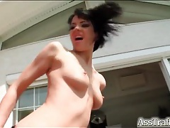 Butt fisting and fucking turns on this whore tubes