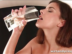Pissing and food play with two hot chicks tubes