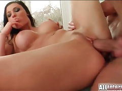 Aletta ocean hardcore threesome with creampie tubes