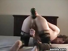 Boy bottle fucks his ass during webcam show tubes