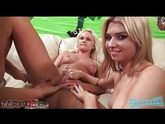 Ivana sweet and molly bennett finger fucked tubes