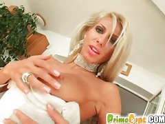 Clara g oils up and fucks that pussy solo tubes