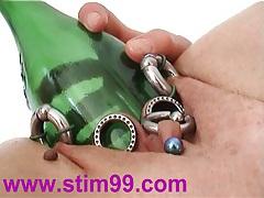 Masturbate bottles fucking tubes