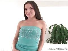 Teen models pink thong and masturbates tubes