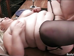 Bbw fucked on big wooden desk tubes