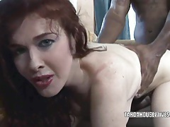 Busty housewife mae victoria takes some black dick tubes