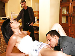 He watches another man arouse his wife tubes