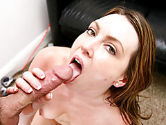 Horny milf diserae getting sticky facial tubes