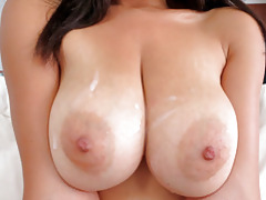 Tittyattack big natural tits latina stacey foxxx fucked cum on boobs tubes