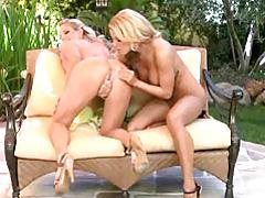 Big tit lesbian sex outdoors tubes