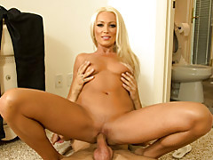 Hardcore with stunning blonde tubes