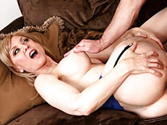 Marvelous blonde milf fucked tubes