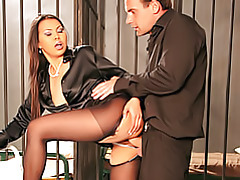 Business slut fucked tubes