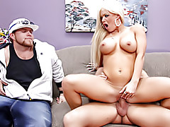 Cock riding blonde slut tubes
