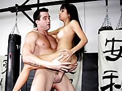 Making her ride his cock tubes