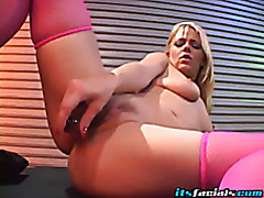 Blonde Babe Will Make you Cum tubes