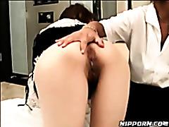 Horny Japanese Maid tubes