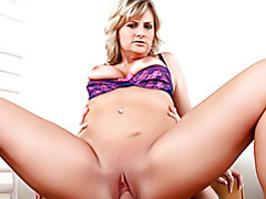 Busty Blonde with Shaved Pussy tubes