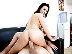 Powerful pussy riding tubes