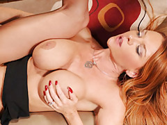 Red head Busty Milf Fucking tubes