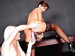 Dildo double penetration lesbians tubes
