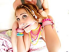 Fucking teen bondage pussy tubes