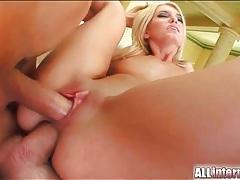 Big loads in the asshole of dp slut tubes