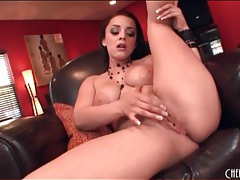Big titty liza del sierra masturbates her cunt tubes