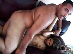 Black girl loves cock and cum from ebony guy tubes