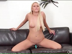 Tight bald pussy of blonde is sexy tubes