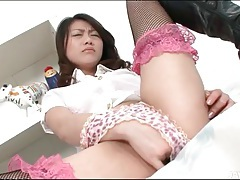 Lingerie is sexy on hina aisawa tubes