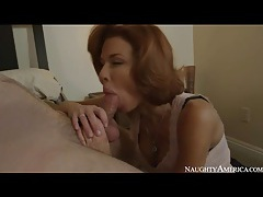 Milf veronica avluv sucks and fucks lustily tubes
