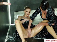 Bukkake slut fucked by gloryhole in hot high definition tubes