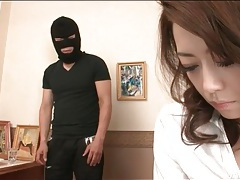 Burglar goes down on sexy japanese girl tubes