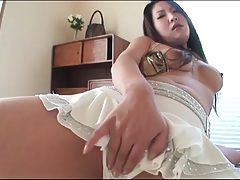 Webcam girl fondles tits and pussy tubes