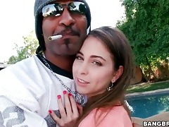 Riley reid sucks black dick in tiny outfit tubes