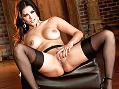 Glamorous big tits pornstar solo tubes
