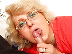 Blown by mature in glasses tubes