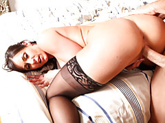 Milf with luscious butt ravaged deep tubes